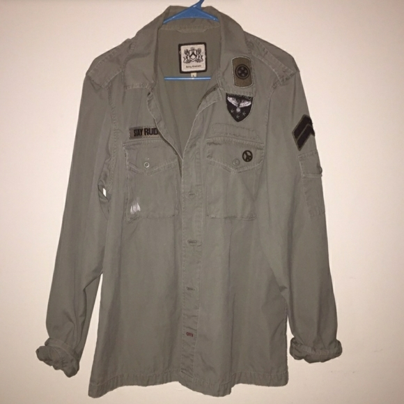 Juicy Couture Jackets & Blazers - Juicy Couture Military Jacket